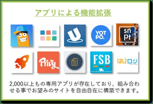 アプリによる機能拡張-2