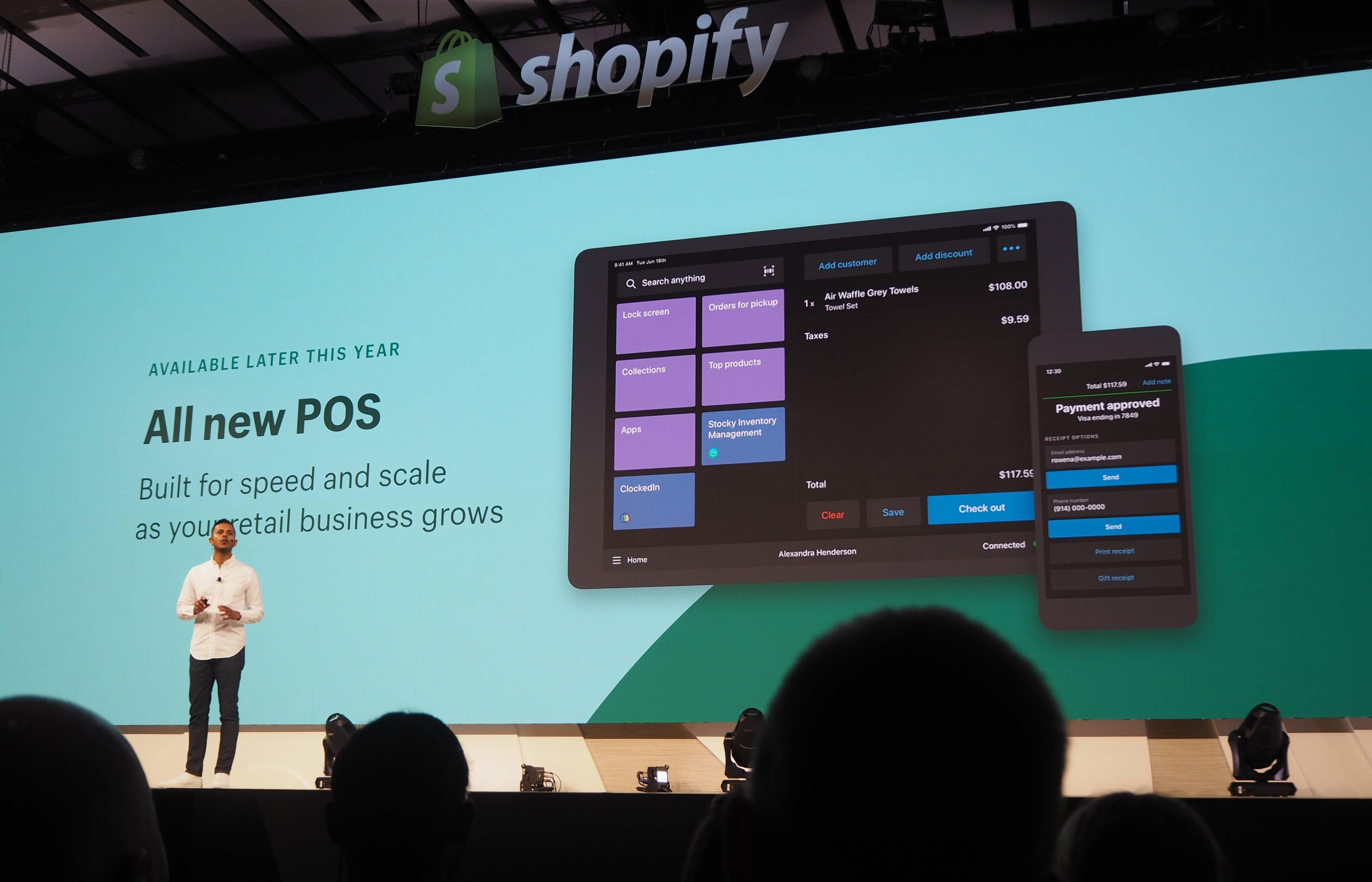 Shopify POSシステムを用いてオンラインとオフラインを融合