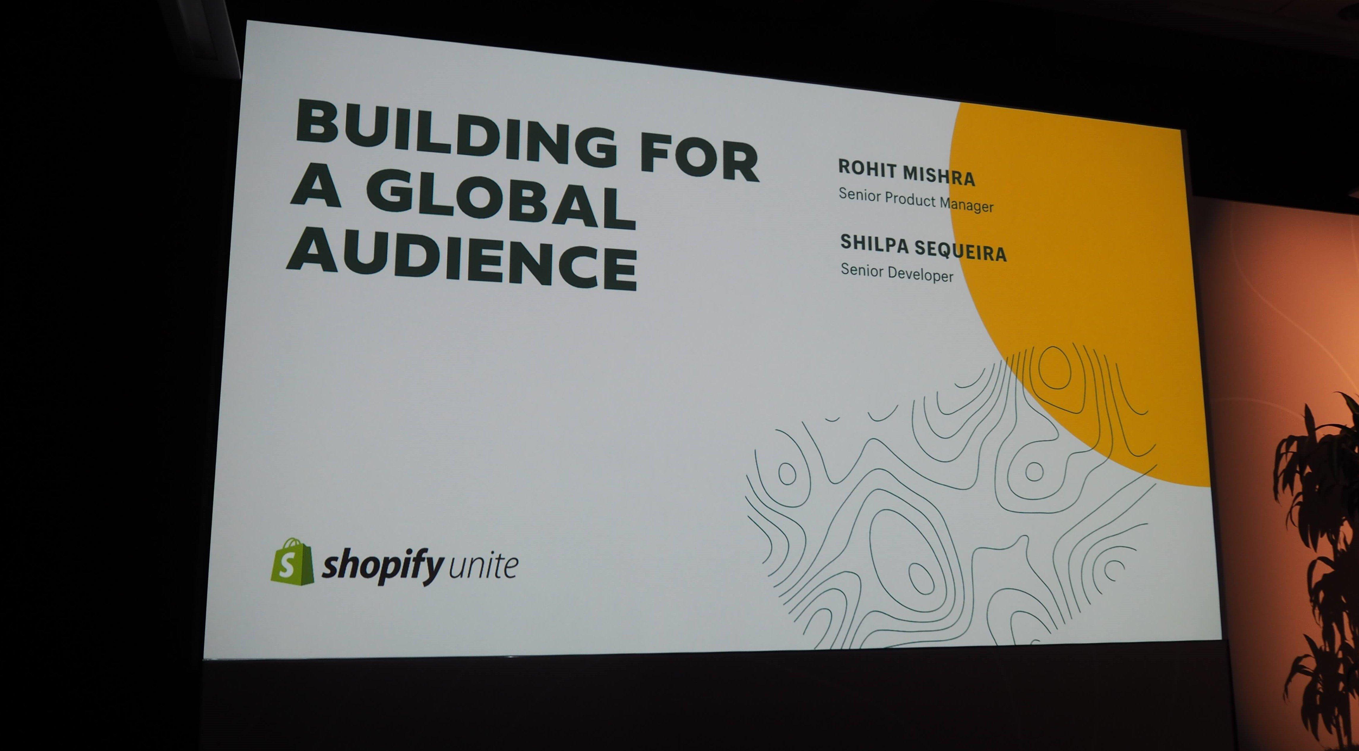 こちらのセッションテーマは「グローバル視点でのユーザー獲得」