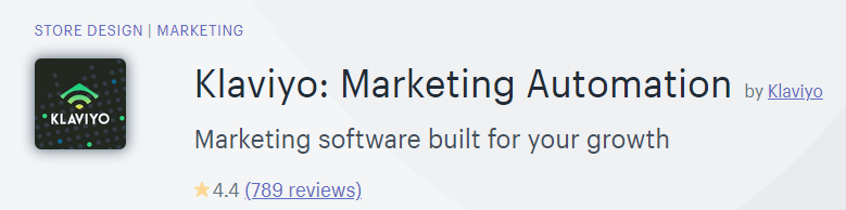 Klaviyo: Marketing Automation